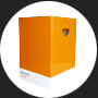 Color-Cube Orange